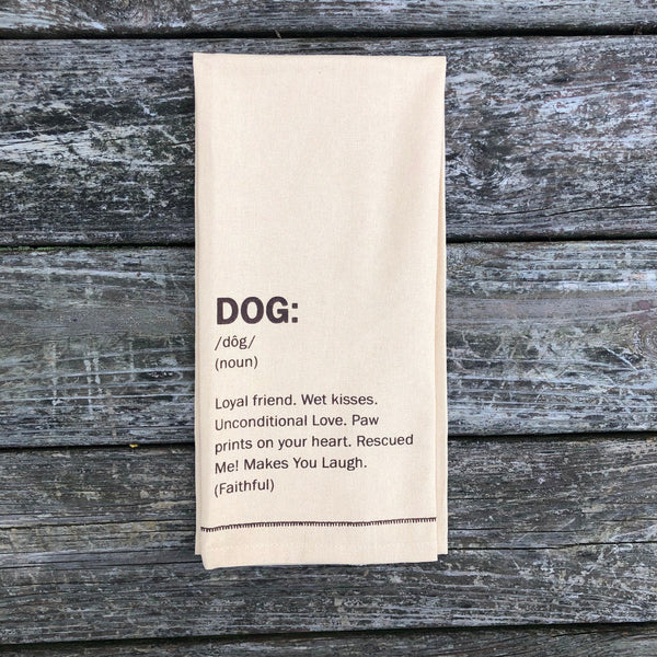 Dog Dish Towel