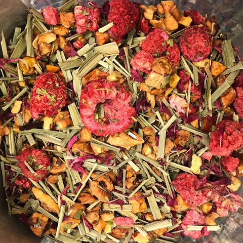 Relaxation Raspberry Lemon Verbena Tea