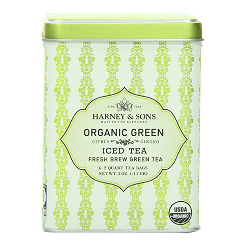 Organic Green with Citrus and Ginko Iced Tea