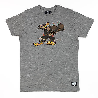 Sailor Jerry Boxing Eagle Put Em Up Tee Shirt Tattoo Punk Rockabilly Mens