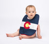 Colorado Flag Baby Bib