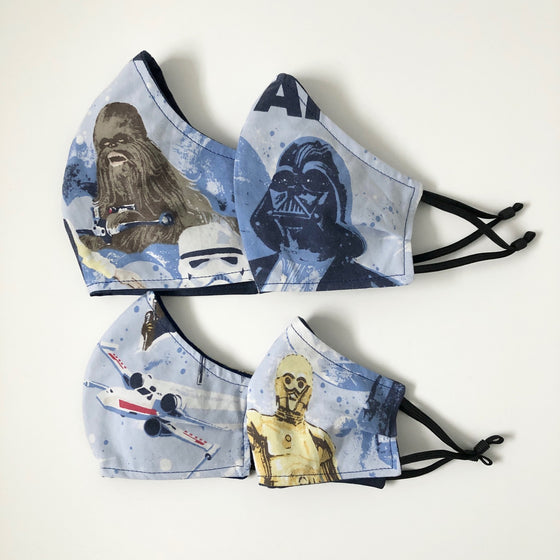 Star Wars Masks - 4 sizes available!