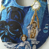 Star Wars Baby Bib - Darth Vader, Princess Leia & Han Solo Baby Gift