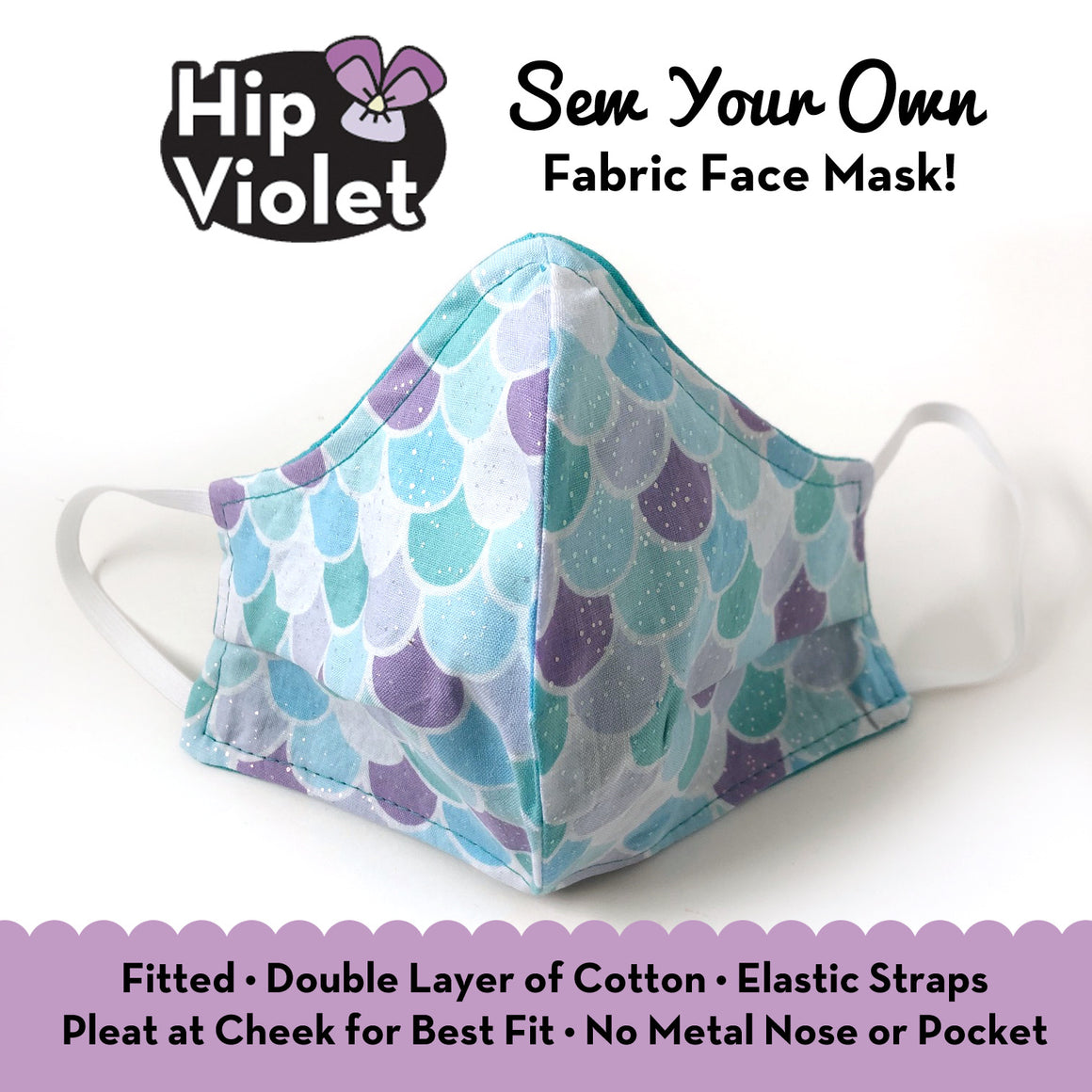 Sew-Your-Own Fabric Face Mask Pattern *FREE*