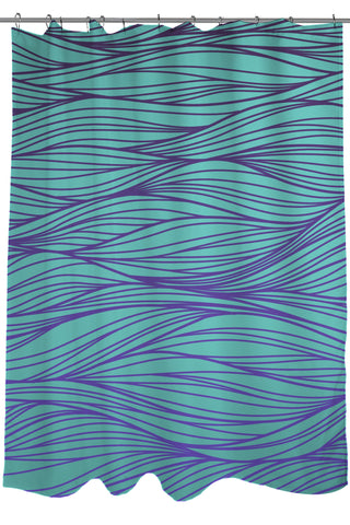 dark teal shower curtain. sale geometric patterns printed shower curtain, fabric, size 71 x 74, purple and turquoise dark teal curtain