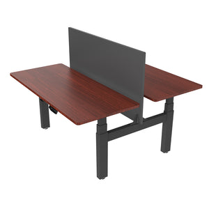 Loctek - HAD3H DUAL HEIGHT ADJUSTABLE STANDING DESK FRAME - myergodesk