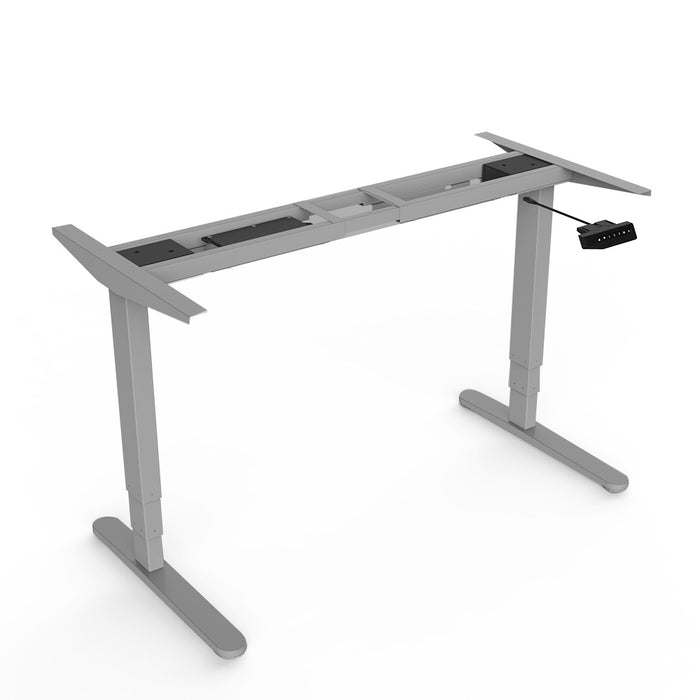 Loctek -   HAD3I HEIGHT ADJUSTABLE STANDING DESK FRAME - myergodesk