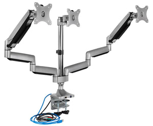 Mount-It! Triple Monitor Desk Mount - MI-2753 - myergodesk