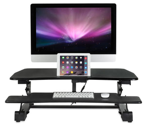 Mount-It! - Electric Sit-Stand Desk Converter - MI-7927E - myergodesk