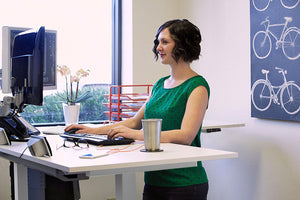 MultiTable - MultiTable Mod-E Pro Electric L-Shaped Standing Desk - myergodesk