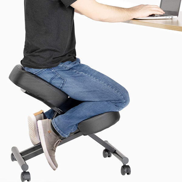 Active Seating - VIVO - DRAGONN  Adjustable Ergonomic Kneeling Chair DN-CH-K01
