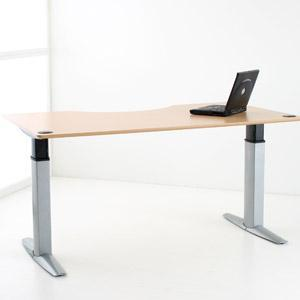 Conference Standing Desk - Conset - 501-23 Conference Room Style Electric Height Adjustable Desk