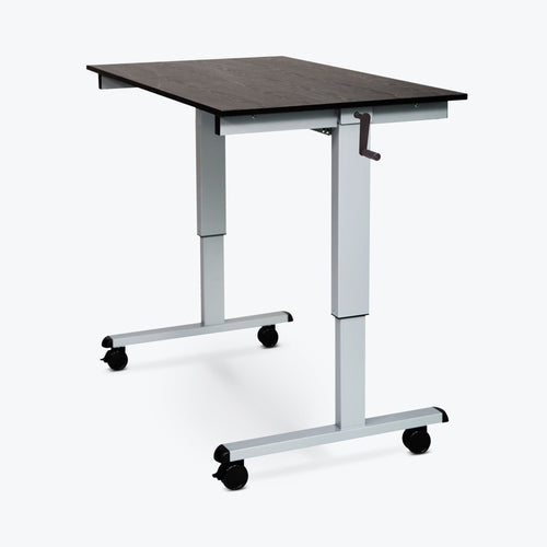 Luxor - 48″ Crank Adjustable Stand Up Desk - myergodesk