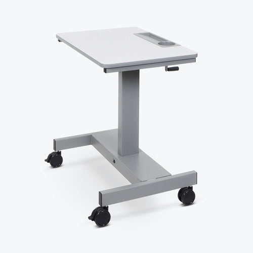 Luxor - Student Desk - Sit Stand Desk with Crank Handle - myergodesk