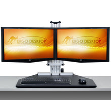 Load image into Gallery viewer, Ergo Desktop - Kangaroo Duo Elite - myergodesk