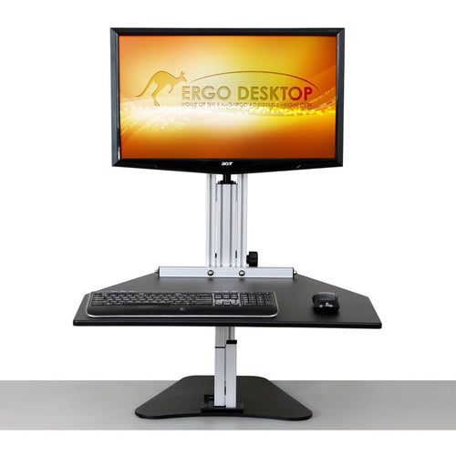 Ergo Desktop - Kangaroo Single Pro - MyErgoDesk.com