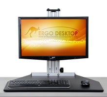Load image into Gallery viewer, Ergo Desktop - Kangaroo Single Pro - myergodesk