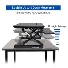 "Load image into Gallery viewer, FlexiSpot - M2 ClassicRiser Standing Desk Converters 35"" - myergodesk"