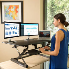 "Load image into Gallery viewer, FlexiSpot- M3 ClassicRiser Standing Desk Converters 47"" - myergodesk"