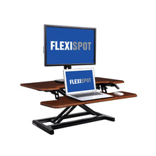 "Load image into Gallery viewer, FlexiSpot -  M7 AlcoveRiser Standing Desk 28"" - myergodesk"