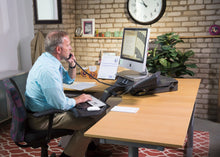 Load image into Gallery viewer, Health Postures - 6100 TaskMate Executive Standing Desk - myergodesk