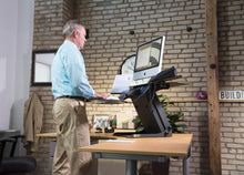 Load image into Gallery viewer, Health Postures - 6100 TaskMate Executive Standing Desk - MyErgoDesk.com