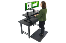 "Load image into Gallery viewer, IMovr - ZipLift+ 42"" Standing Desk Converter - myergodesk"