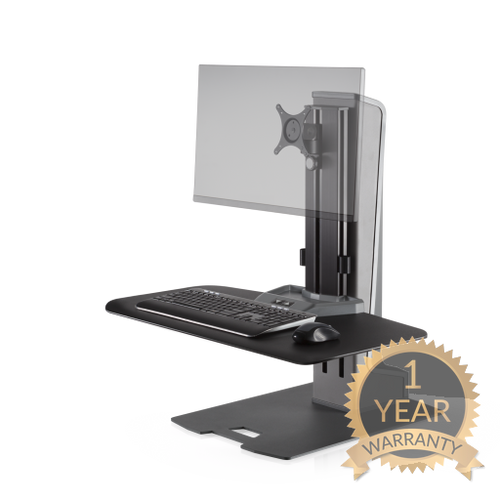 Innovative - Winston-E® Sit-Stand Workstation - myergodesk