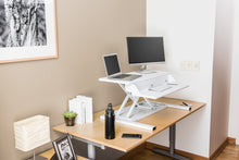 Load image into Gallery viewer, Luxor - Level Up 32 Pro Standing Desk Converter - MyErgoDesk.com