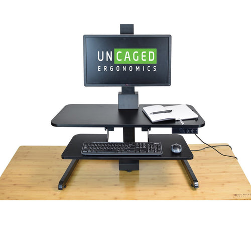 UNCAGED- ELECTRIC STANDING DESK CONVERSION - myergodesk