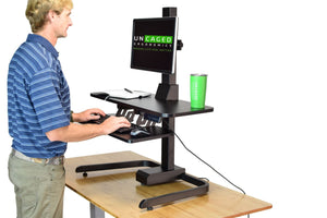 UNCAGED- ELECTRIC STANDING DESK CONVERSION - MyErgoDesk.com