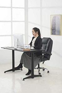 "Electric Adjustable Standing Desk - ApexDesk Vortex Series 55"" Electric Height Adjustable Sit To Stand Desk"