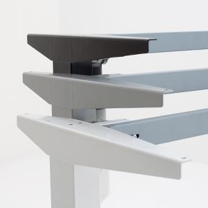 Electric Adjustable Standing Desk - Conset - 501-37 Modern Electric Height Adjustable Desk