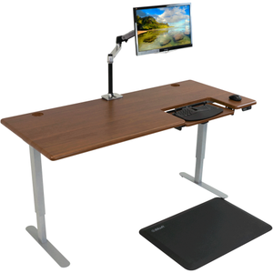 iMovR - Cascade Standing Desk with SteadyType - myergodesk