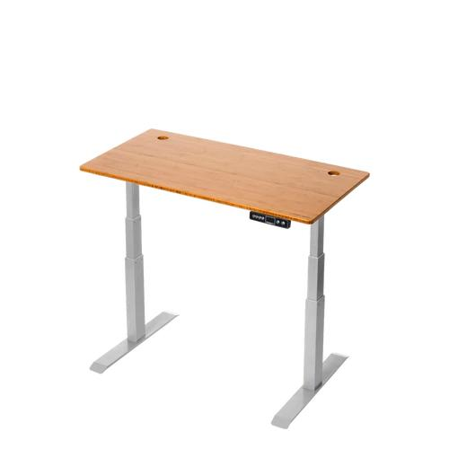 Electric Adjustable Standing Desk - StandDesk - Bamboo Standing Desk (60