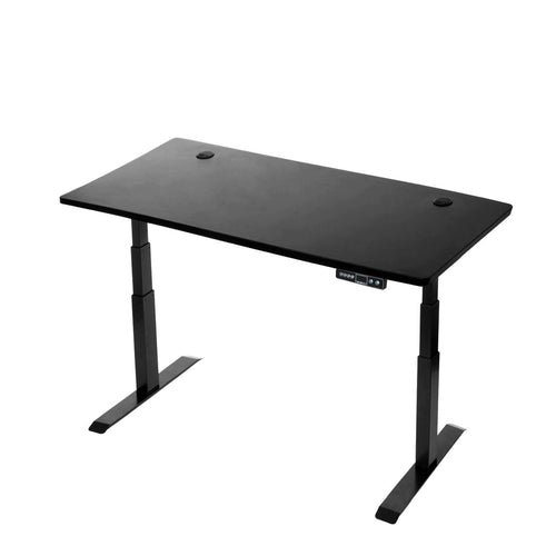 Electric Adjustable Standing Desk - StandDesk - Black Adjustable Height Desk (60