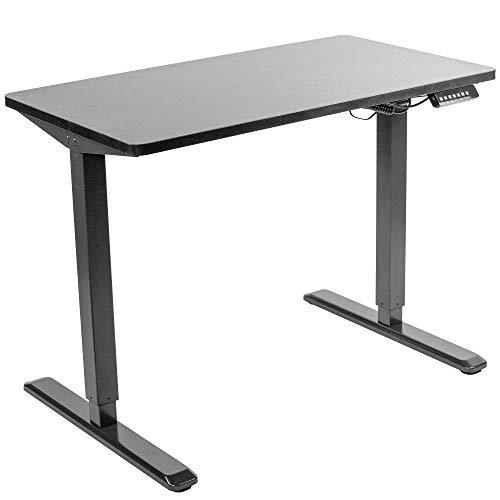 "Electric Adjustable Standing Desk - VIVO - DESK-KIT-1B4B  Black 43"" X 24"" Electric Desk"