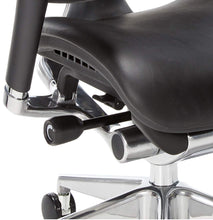 Load image into Gallery viewer, Ergonomic Chairs - GM Seating - Dreem  III Leather Series Executive Hi Swivel Chair Chrome Base With Headrest