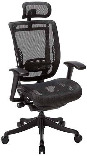 Ergonomic Chairs - GM Seating - Enklave Executive Hi Swivel Office Chair With Headrest