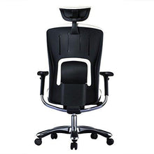 Load image into Gallery viewer, Ergonomic Chairs - GM Seating - Ergolux Genuine Leather Executive Hi Swivel Chair Chrome Base With Headrest