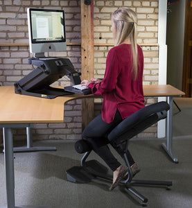 Ergonomic Chairs - Health Postures - 5000 Stance Move Sit-Stand Chair