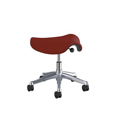 Humanscale - Freedom Saddle Pony Seat - MyErgoDesk.com