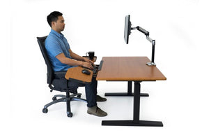 iMovR - Elevon Super-Ergonomic Desk Extension for Sit-Stand Desks - MyErgoDesk.com