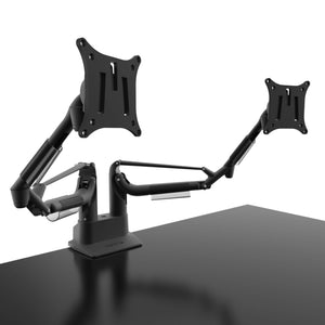 Monitor Arm - Kanto - DMS2000 Dual Arm Desktop Monitor Mount