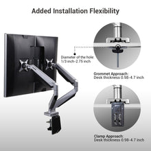 Load image into Gallery viewer, Monitor Arm - Loctek - D7DR DUAL MONITOR MOUNT
