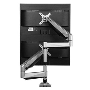 Loctek - D7S DUAL STACKING MONITOR ARM - myergodesk