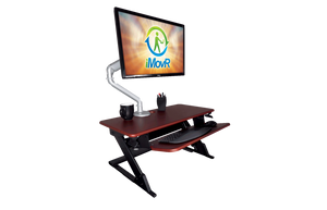 "iMOVR ZipLift+ 35"" Patriot - myergodesk"