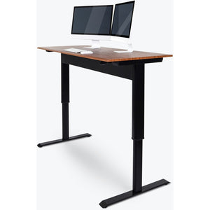 "Luxor - 48"" Pneumatic Adjustable Height Standing Desk - MyErgoDesk.com"