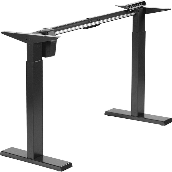 Standing Desk Frame - VIVO - DESK-E151E Compact Electric Single Motor Desk Frame