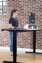 Load image into Gallery viewer, VIVO - DESK-V103E Electric Stand Up Desk Frame w/ Dual Motor and Cable Management Rack - myergodesk